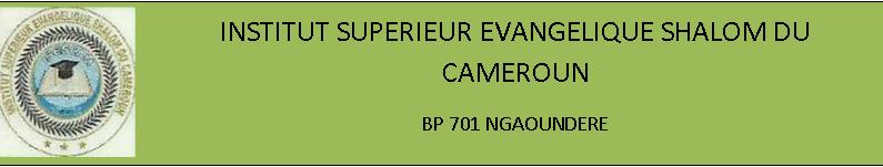 FACULTE AUTONOME DE THEOLOGIE EVANGELIQUE DU CAMEROUN